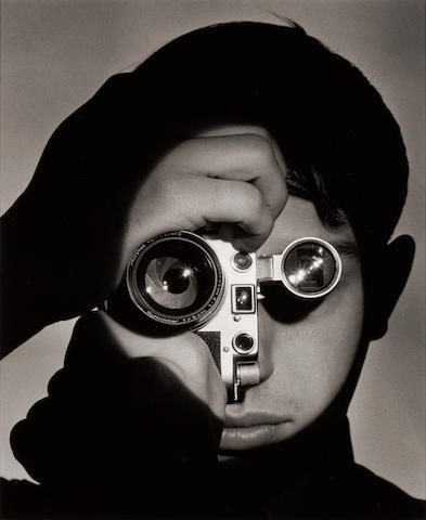 Andreas Feininger (French, 1906-1999); The Photojournalist (Dennis Stock);