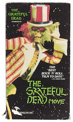 "Grateful Dead ""Skull and Roses"" banner from the Grateful Dead movie, used by Bill Graham at Winterland"