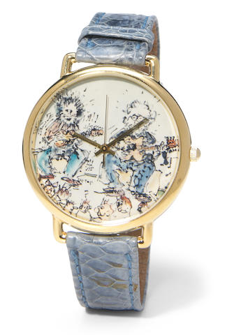 J. Garcia Artwear, Not Just For Kids Art, Watch on Board, example number 1, a production sample