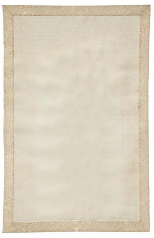 A Tony Duquette Studios custom sisal rug