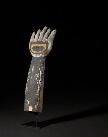 A Northwest Coast figural fragment