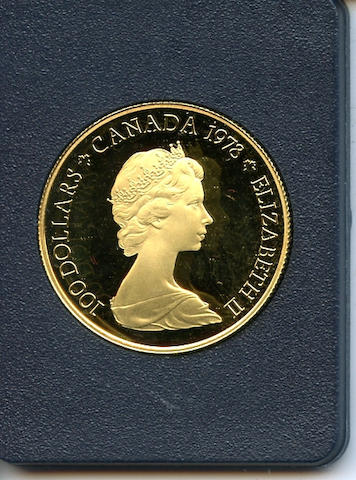 Canada, Royal Canadian Mint 1978 Gold $100 Proof