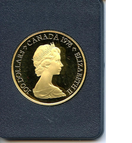 Canada, Royal Canadian Mint 1978 $100 Proof