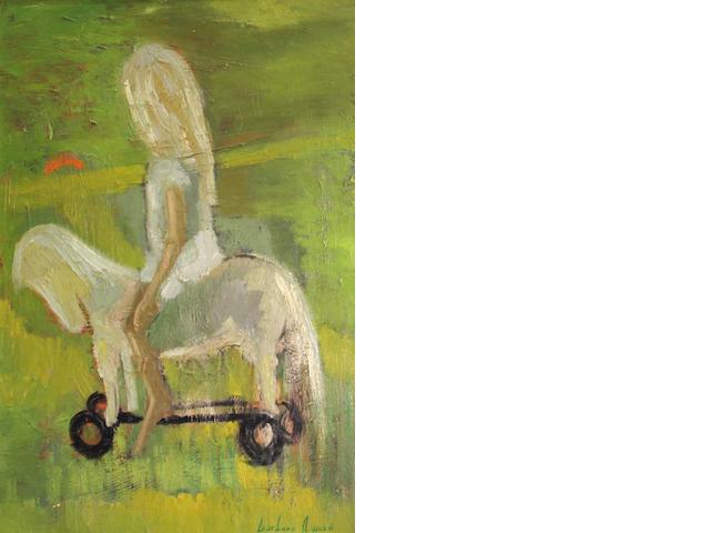 Barbara A Wood, Girl on horse