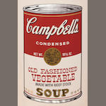 Andy Warhol (American, 1928-1987); Old Fashioned Vegetable, from Campbell's Soup II;