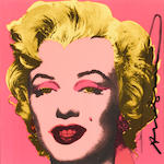 Andy Warhol (American, 1928-1987); Marilyn (Announcement);