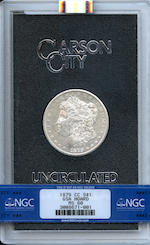 1879-CC GSA $1 MS60 NGC