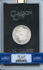 1880-CC GSA $1 MS63 NGC