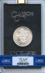 1885-CC GSA $1 MS63 NGC
