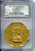 1851 880 Reeded Edge $50 AU Details NCS