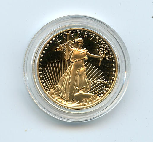1990 1/2 Oz $25 Proof Gold Eagle