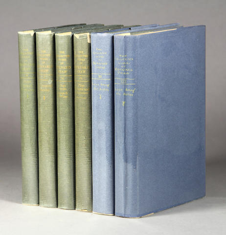 SHAW, GEORGE BERNARD. Collected Works. New York: Wm. H. Wise, 1930-2.