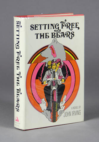 IRVING, JOHN. Setting Free the Bears. New York: Random House, [1968].