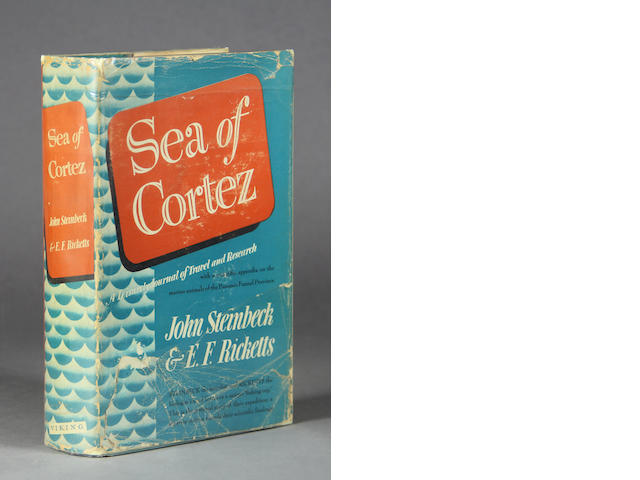 STEINBECK, JOHN & EDWARD F. RICKETTS. Sea of Cortez. New York: The Viking Press, 1941.