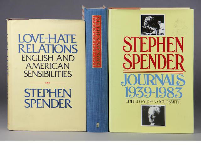 SPENDER, STEPHEN.