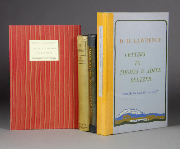 LAWRENCE, T. E. Several volumes
