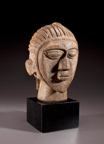 Lobi Ancestral Head, Burkina Faso