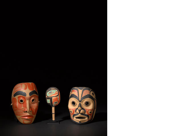 Three Nootka items