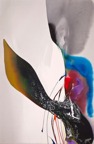 Paul Jenkins (American, born 1923) Phenomena Mephisto Stance, 1969 73 7/8 x 49in. (187.6 x 124.4cm)