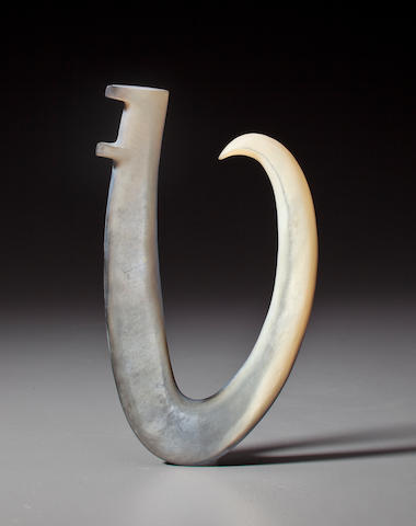 Large Pearl Shell Fish Hook, Gambier Islands