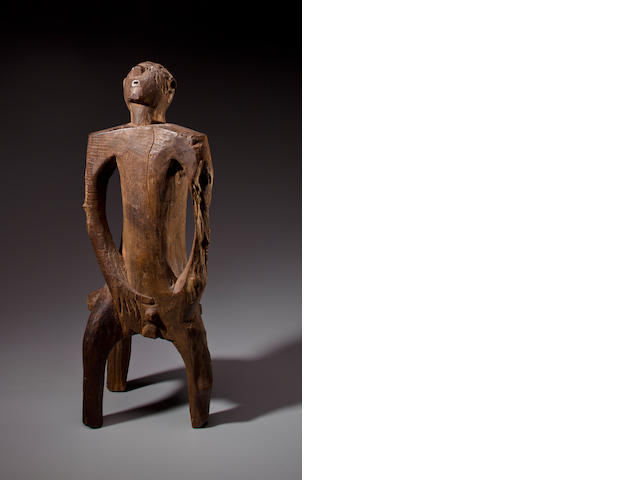 Nyamwezi Seated Male Figure, Tanzania