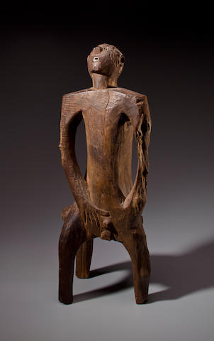 Nyamwezi Seated Male Figure, Tanzania