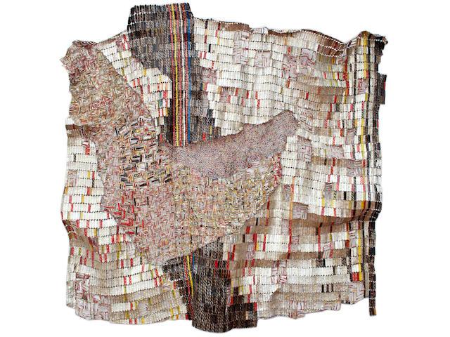 El Anatsui (born 1944) Harbinger, 2012 133 7/8 x 157 1/2in. (340 x 400cm)
