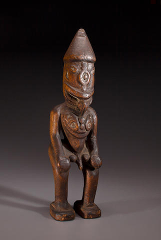 Sepik River Male Figure, Papua New Guinea
