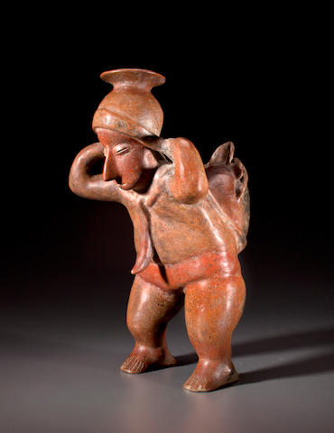 Colima Cargador, Protoclassic, ca. 100 B.C. - A.D. 250
