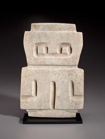 Valdivia Stone Flat Figure, Ecuador