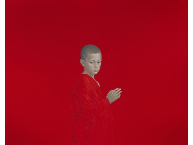 Salustiano (born 1965) I WAS THERE (Salva), 2005 61 7/16 x 47 5/8in. (156 x 121cm)