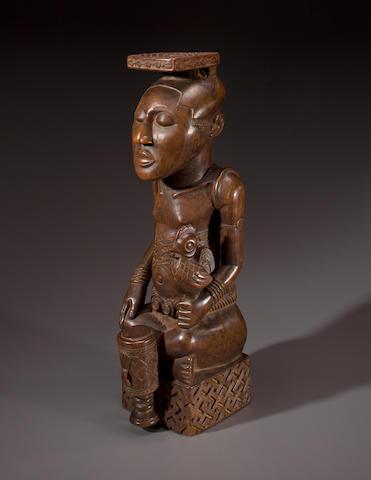 Kuba Figure of a King, Democratic Republic of Congo