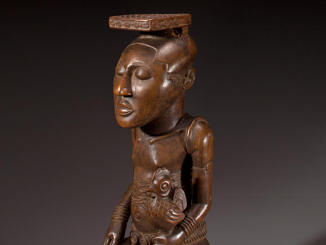 Kuba Figure of a King, Democratic Republic of Congo