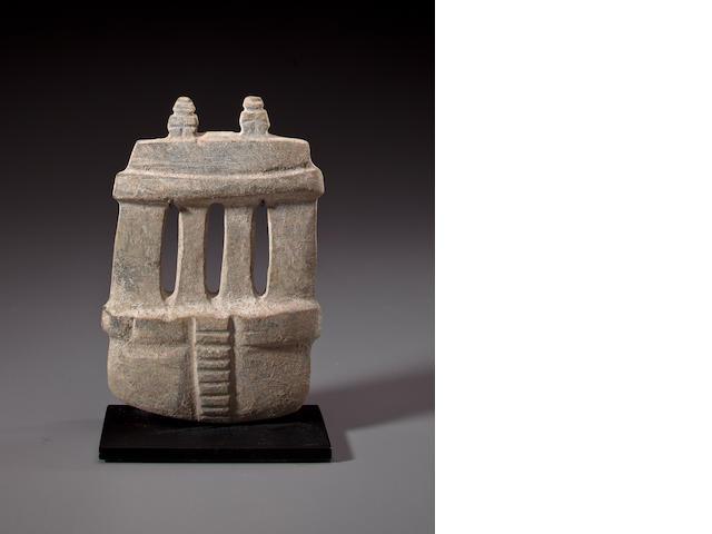 Mezcala Stone Temple