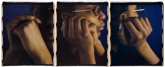 Dawoud Bey (American, born 1953); Monique II (triptych); (3)
