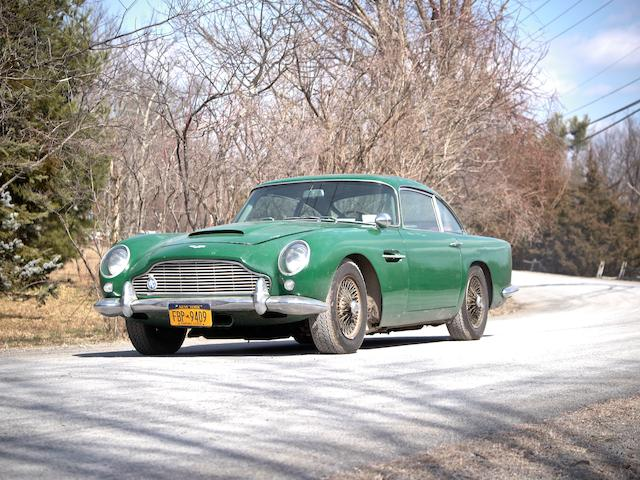 Original U.S. Delivery, 37,000 miles from new, in the present ownership since 1974, and left hand drive,1964 Aston Martin DB5 Saloon  Chassis no. DB5/1322/L Engine no. 400/1277