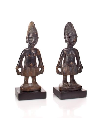 Yoruba Twin Figures, Nigeria