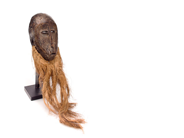 Lega Mask, Democratic Republic of Congo