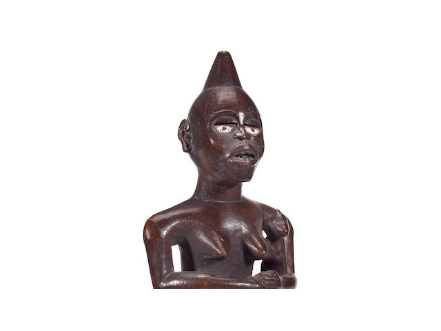 Vili Maternity Figure, Ukongo Region, Democratic Republic of Congo