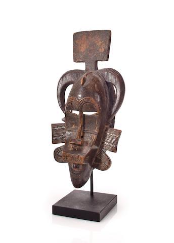Mask, kpelie, Senufo, Ivory Coast