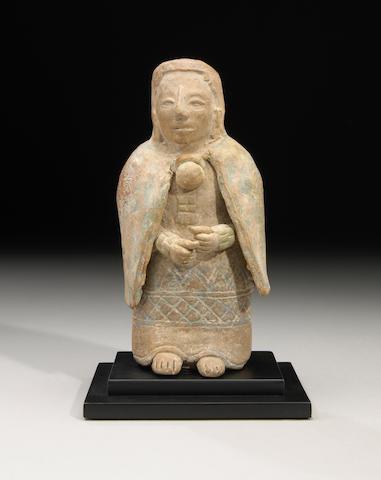 Maya Standing Dignitary, Jaina, Late Classic, ca. A.D. 550 - 950