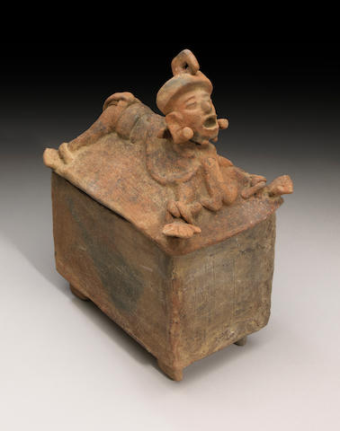 Maya Cache Box, Late Classic, ca. A.D. 550 - 950