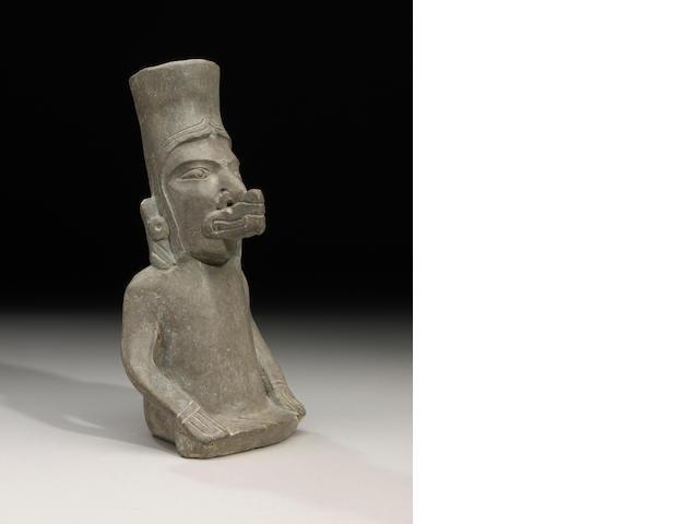 Rare Zapotec Figural Urn