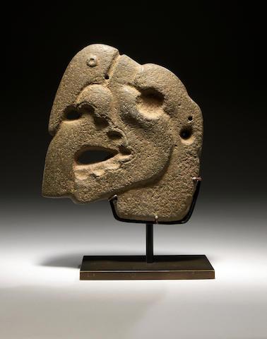 Veracruz Stone Hacha, Late Classic, ca. A.D. 550 - 950