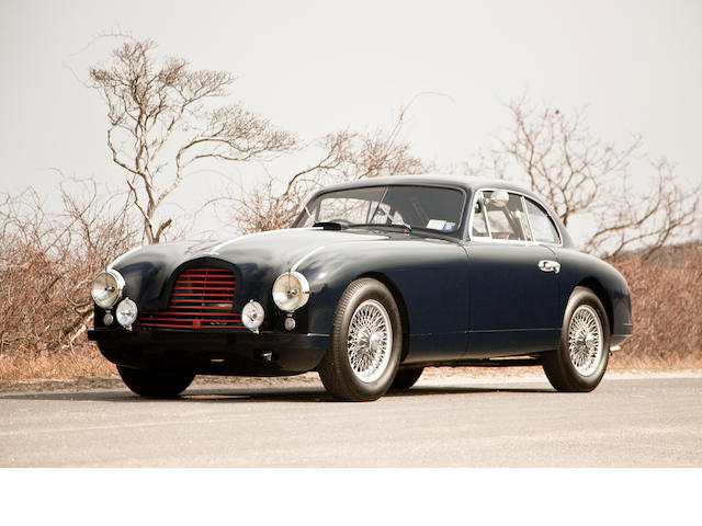 In the former ownership for 40 years, subsequent comprehensive restoration,1953 Aston Martin DB2 Saloon  Chassis no. LML/50285 Engine no. LB6B/50640