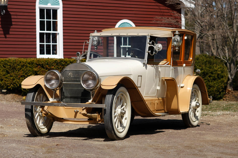 Offered from long-term private ownership,1919 Locomobile Model 48 6-Fender Town Car  Chassis no. 16008