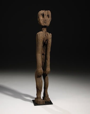 Standing Ancestral Figure, Kontu (Kantu) Dayak Group, West Kalimantan, Borneo Island