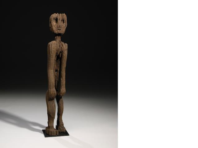 Standing ancestral figure, Borneo
