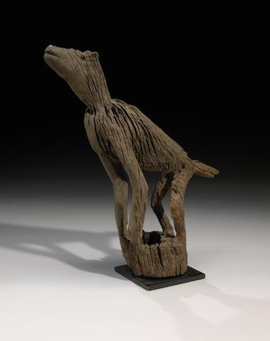 Canine figure, Borneo