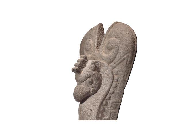 Veracruz Stone Palma, Late Classic, ca. A.D. 550 - 950